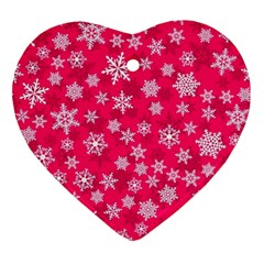Winter Pattern 13 Ornament (heart) by tarastyle