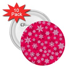 Winter Pattern 13 2 25  Buttons (10 Pack)  by tarastyle