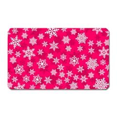 Winter Pattern 13 Magnet (rectangular)