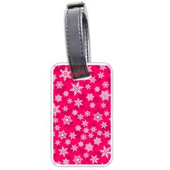 Winter Pattern 13 Luggage Tags (two Sides) by tarastyle