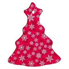 Winter Pattern 13 Christmas Tree Ornament (two Sides) by tarastyle