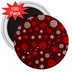 Winter Pattern 14 3  Magnets (100 Pack) by tarastyle