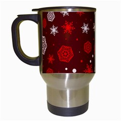 Winter Pattern 14 Travel Mugs (white) by tarastyle
