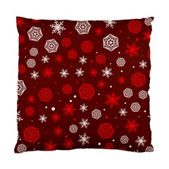 Winter Pattern 14 Standard Cushion Case (two Sides) by tarastyle