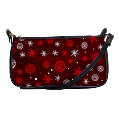 Winter Pattern 14 Shoulder Clutch Bags by tarastyle