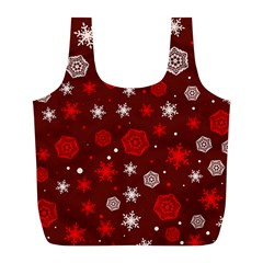 Winter Pattern 14 Full Print Recycle Bags (l)  by tarastyle