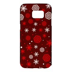 Winter Pattern 14 Samsung Galaxy S7 Edge Hardshell Case by tarastyle
