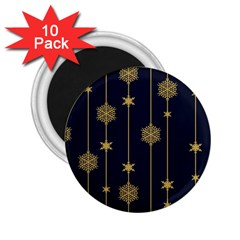 Winter Pattern 15 2 25  Magnets (10 Pack)  by tarastyle