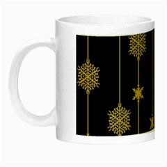 Winter Pattern 15 Night Luminous Mugs by tarastyle