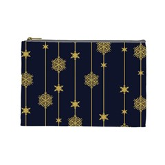 Winter Pattern 15 Cosmetic Bag (large)  by tarastyle