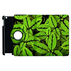 Nature Print Pattern Apple Ipad 2 Flip 360 Case by dflcprints