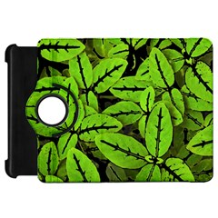 Nature Print Pattern Kindle Fire Hd 7  by dflcprints