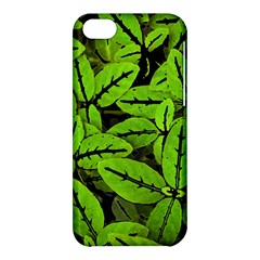 Nature Print Pattern Apple Iphone 5c Hardshell Case by dflcprints
