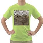 Shabbychicwoodwall Green T-Shirt