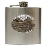 Shabbychicwoodwall Hip Flask (6 oz)