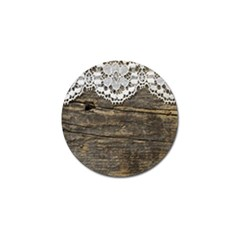 Shabbychicwoodwall Golf Ball Marker by Love888
