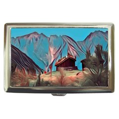 Modern Norway Painting Cigarette Money Cases by 8fugoso