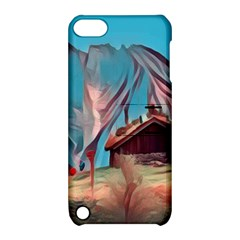 Modern Norway Painting Apple Ipod Touch 5 Hardshell Case With Stand by Love888