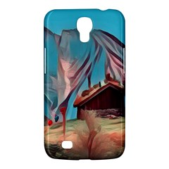 Modern Norway Painting Samsung Galaxy Mega 6 3  I9200 Hardshell Case by 8fugoso