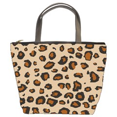 Leopard Print Bucket Bags by TRENDYcouture