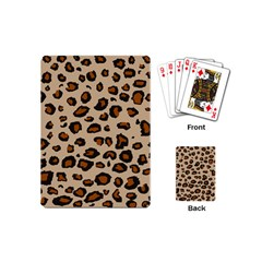 Leopard Print Playing Cards (mini)  by TRENDYcouture