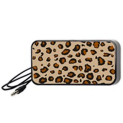 Leopard Print Portable Speaker (black) by TRENDYcouture