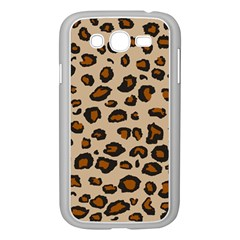 Leopard Print Samsung Galaxy Grand Duos I9082 Case (white) by TRENDYcouture