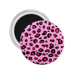 Pink Leopard 2 25  Magnets by TRENDYcouture