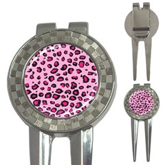 Pink Leopard 3 In 1 Golf Divots by TRENDYcouture