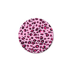 Pink Leopard Golf Ball Marker by TRENDYcouture