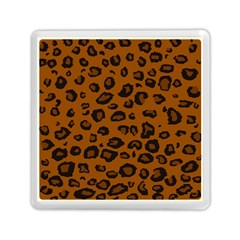 Dark Leopard Memory Card Reader (square)  by TRENDYcouture
