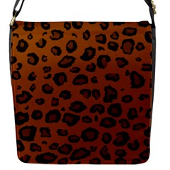 Dark Leopard Flap Messenger Bag (s) by TRENDYcouture