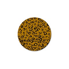 Golden Leopard Golf Ball Marker by TRENDYcouture