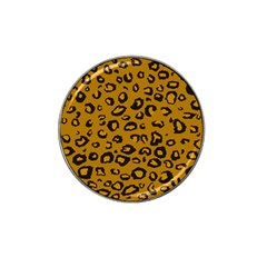 Golden Leopard Hat Clip Ball Marker (4 Pack) by TRENDYcouture