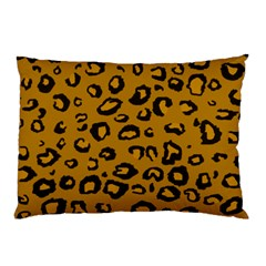 Golden Leopard Pillow Case by TRENDYcouture
