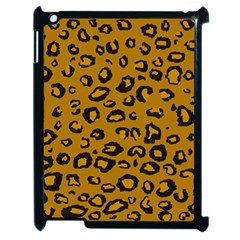 Golden Leopard Apple Ipad 2 Case (black) by TRENDYcouture
