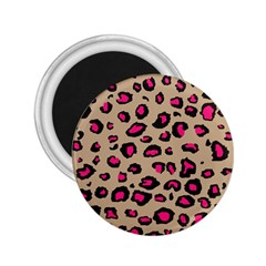 Pink Leopard 2 2 25  Magnets by TRENDYcouture
