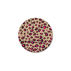 Pink Leopard 2 Golf Ball Marker by TRENDYcouture