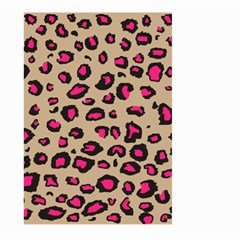 Pink Leopard 2 Large Garden Flag (two Sides)
