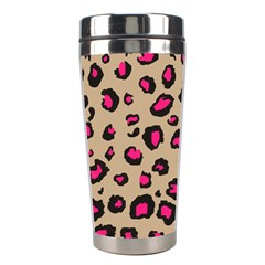 Pink Leopard 2 Stainless Steel Travel Tumblers by TRENDYcouture