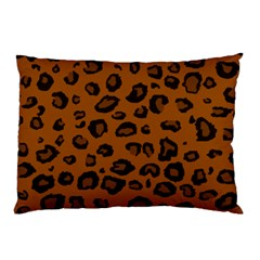 Dark Leopard Pillow Case (two Sides) by DreamCanvas