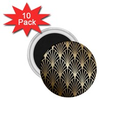 Art Deco 1 75  Magnets (10 Pack)  by 8fugoso