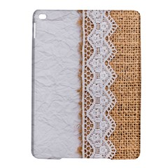 Parchement,lace And Burlap Ipad Air 2 Hardshell Cases by 8fugoso