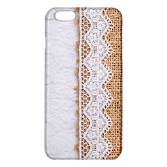 Parchement,lace And Burlap Iphone 6 Plus/6s Plus Tpu Case by 8fugoso