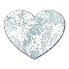 Countryblueandwhite Heart Mousepads by theunrulyartist