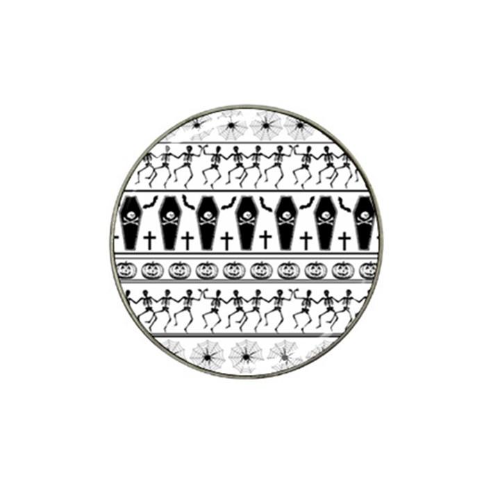 Halloween pattern Hat Clip Ball Marker (10 pack)