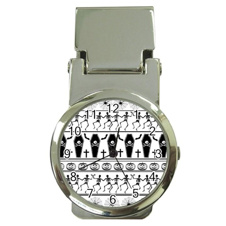Halloween pattern Money Clip Watches