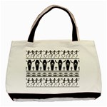 Halloween pattern Basic Tote Bag Front