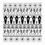 Halloween pattern Medium Glasses Cloth (2-Side) Front