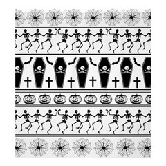 Halloween Pattern Shower Curtain 66  X 72  (large)